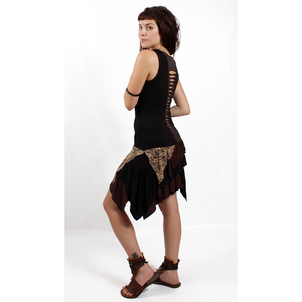 "Dress \\\""tanika\\\"" brown"