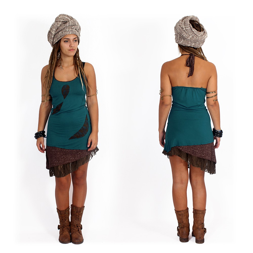 "Dress ""Tarmy\"", Teal"