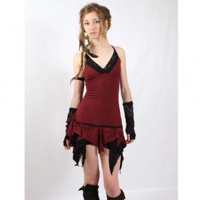 "Dress liloo \""nehelenia\\\"", deep red - black"