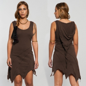 "Dress luna \""pixie\\\"", brown"