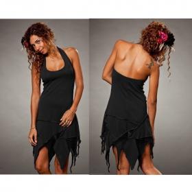 "Dress Luna \""Star Backless\"", Black"