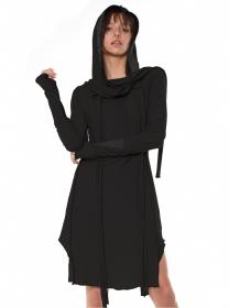 "\""Dune\"" dress, Black"