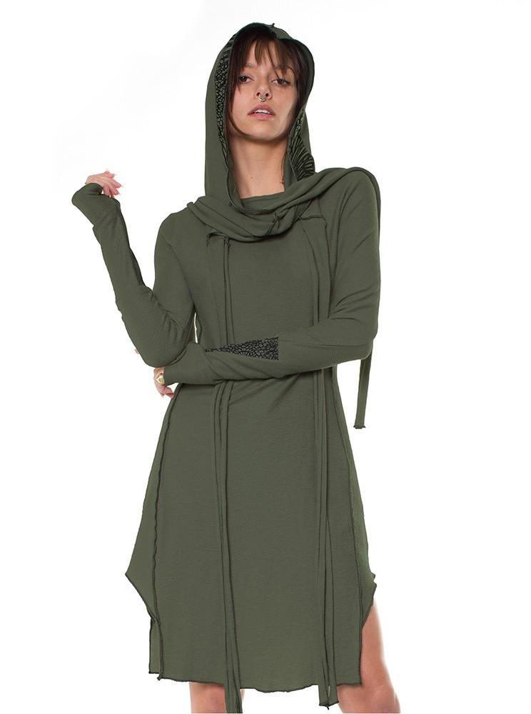 "\""Dune\"" dress, Khaki"