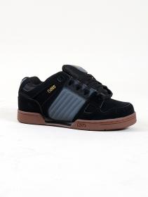 DVS Celsius, Cuero negro y gris y oro detalles