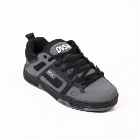 DVS Comanche, Grey and black nubuck leather