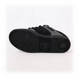 DVS Enduro 125, Cuero negro y detalles en gris