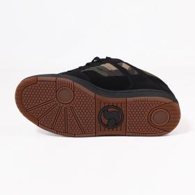 DVS Enduro 125, Negro nubuck cuero y camo detalles