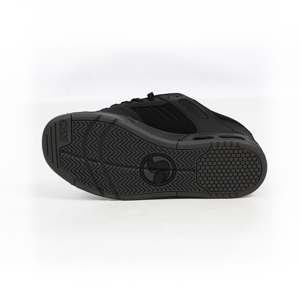 DVS Enduro Heir, Cuero negro y detalles en negro