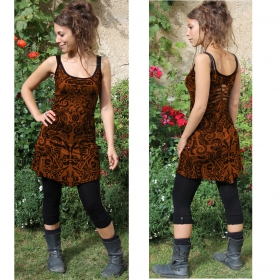 """Electra Aztek\"" dress, Golden brown"