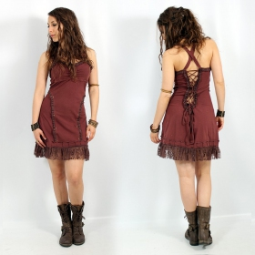 "Exception \""Phimay\\\"" dress, Brown"