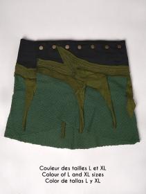 "Falda \""Sadananda\"", Verde caqui"