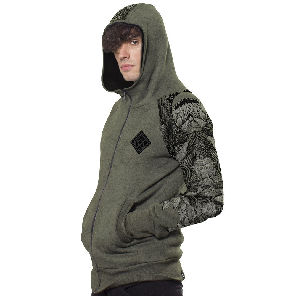 ""\""""Feathers"""" zipped hoodie, Olive hydron""1000|1000|?|en|2|ca0952f4064e8175fc7e0a8798a14474|False|UNLIKELY|0.29467955231666565