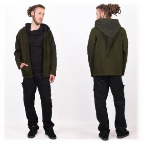 "GadoGado Jacket dwarfhood \""Hoarii\"", Khaki green"
