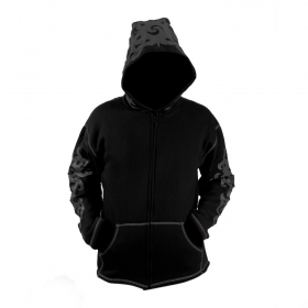 "GadoGado Jacket dwarfhood \""Ihoa\"", Black"