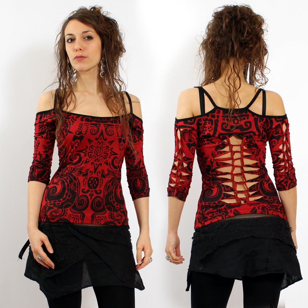 "Gadogado Top ""Sedna Aztek\"", Red"