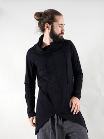 "Gender neutral - Sudadera ligero ""Demter\"", Negro"