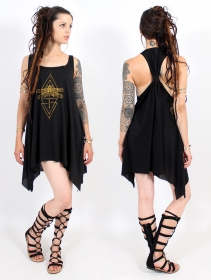 ""\\""""Geometric Dragonfly\"""" knotted tunic, Black and gold""280|280|?|en|2|37bf62d004f9934efe0ef87339a8a2de|False|UNLIKELY|0.3256177306175232