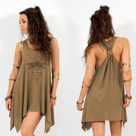 ""\\""""Geometric Dragonfly\"""" knotted tunic, Brown and black""280|280|?|en|2|02e3fe097ffe489fec11aca92f127683|False|UNLIKELY|0.3206309974193573