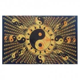"Hanging \\\""ying yang special\\\"" 1,40 x 2,20 m"