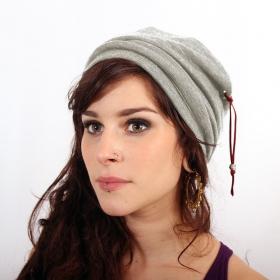 "Hat Psylo \\\""Turban Beanie\\\"", Grey"
