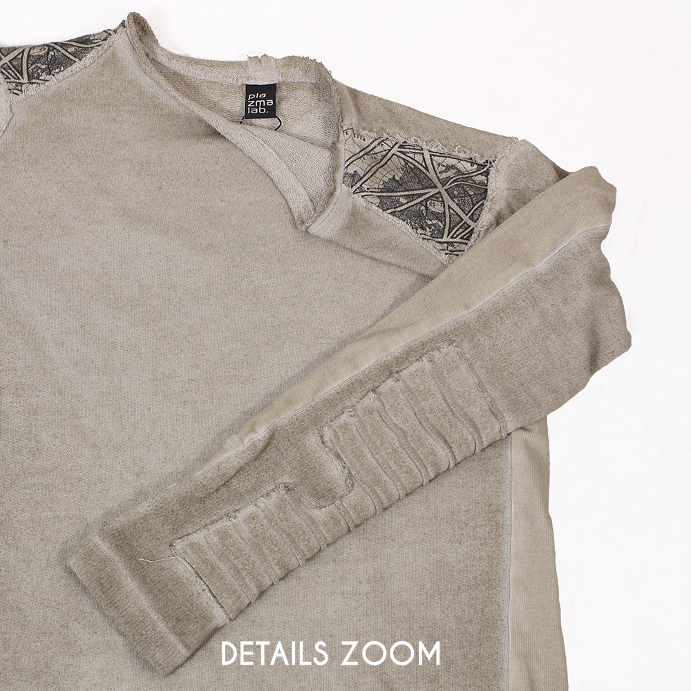 """Hattori"" light sweater, Wash beige"