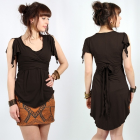 """I See \""""Chainat\"""" top, Brown"""