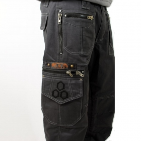 "Indian Project Pants \""Vector\\\"", Anthracite"