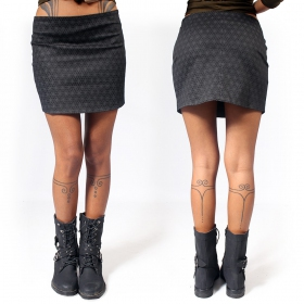 """Ishtar Flower of Life\"" skirt, Rusty"