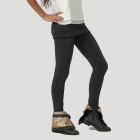 """Isis\"" Long legging, Black"