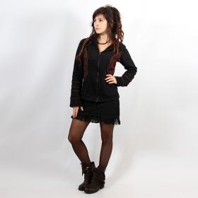 "Jacket \""Avkash\"", Black Brown lace"