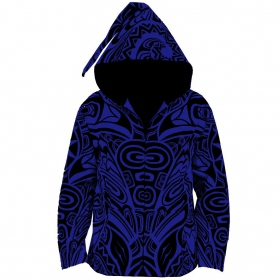 "Jacket dwarfhood GadoGado ""Arutua\"", Blue black"