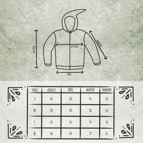 "Jacket dwarfhood GadoGado \\\""Homai\\\"", Grey"