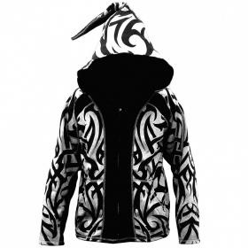 "Jacket dwarfhood GadoGado \""Manutahi\"", White black"