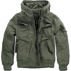 "Jacket surplus \""bronx\\\"", kaki"