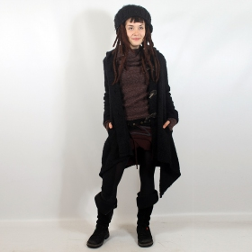 "Jacket witch \""sadhana\\\"", one size color black"
