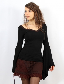 """Jersey \""""Eo-Kimö\"""", Negro y marrón"""