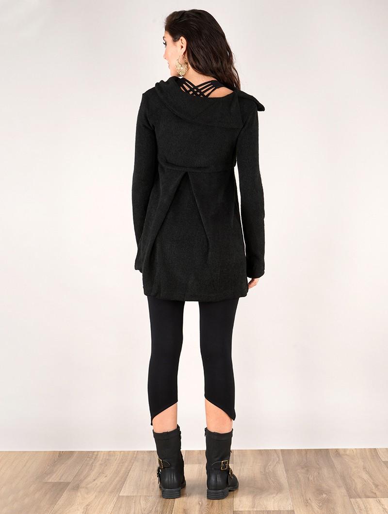 "Jersey túnica \""Ekantika\"", Negro"