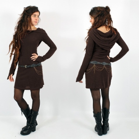 """Karmäa\"" pullover dress, Brown"