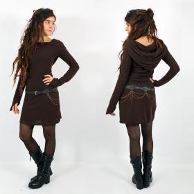 "\""Karmäa\"" pullover dress, Brown"