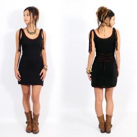 "\\\""Kyä\\\"" Yggdrazil dress, Black brown"