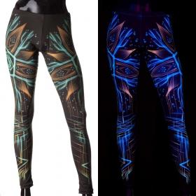 "Leggings UV \""Multiverse\"", Negro"