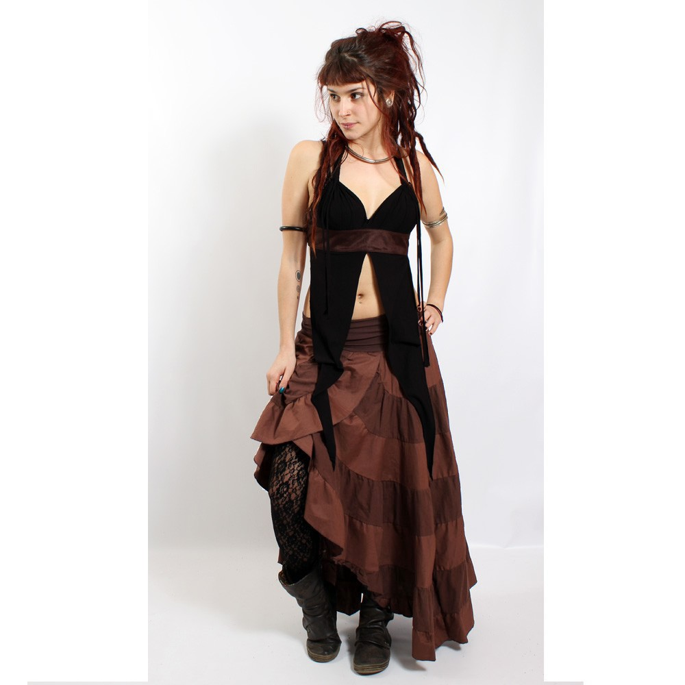 "Liloo Skirt ""Goa\"", Brown"