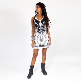 "\""Lotus\"" dress, Khaki"