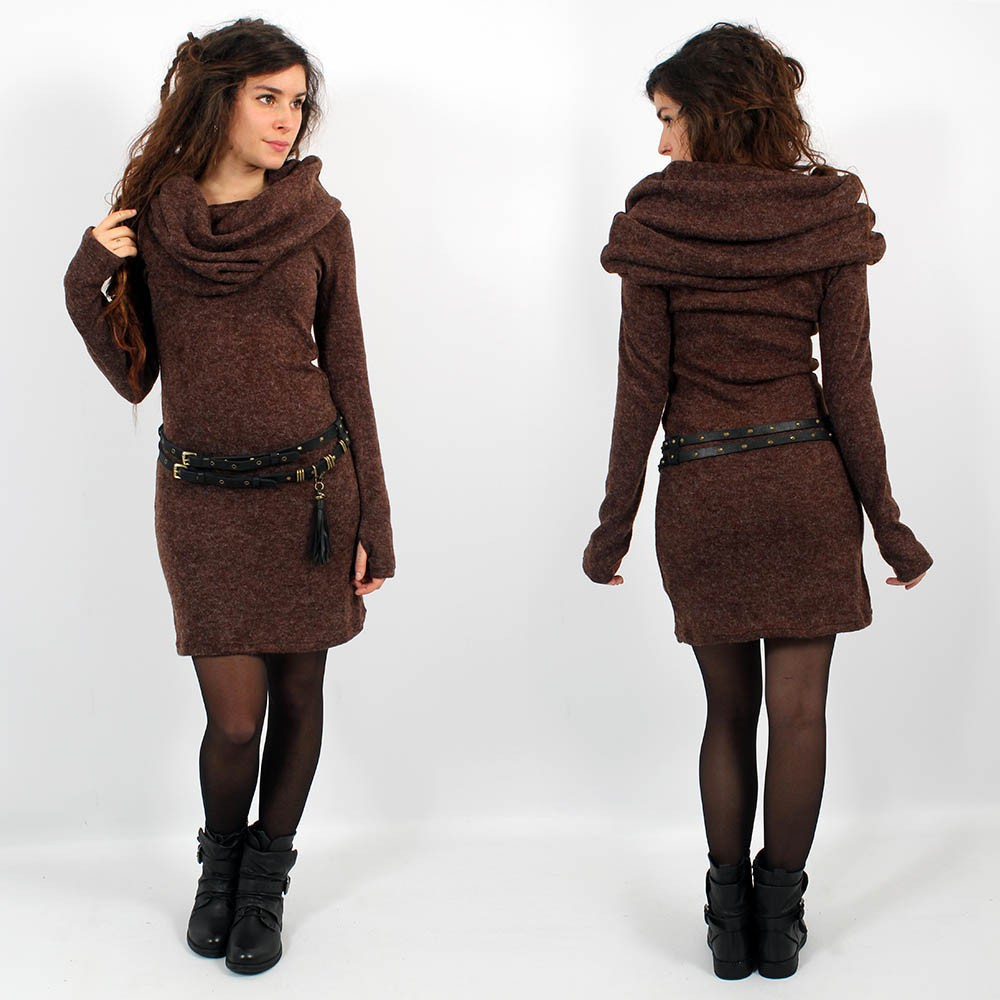 ""\""""Mantra"""" pullover dress, Brown""1000|1000|?|en|2|9d3000b54915c9df07ee0935cd1b52a3|False|UNLIKELY|0.3052677810192108