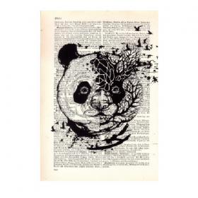 """Mini póster \""""Panda\"""""""