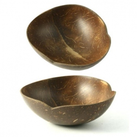 Mix bowl in coconut wood