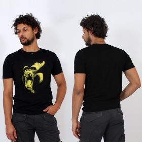 """Monkey Banana\"" t-shirt, black"