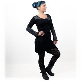 "\""Nangaï\"" skirt, Black"