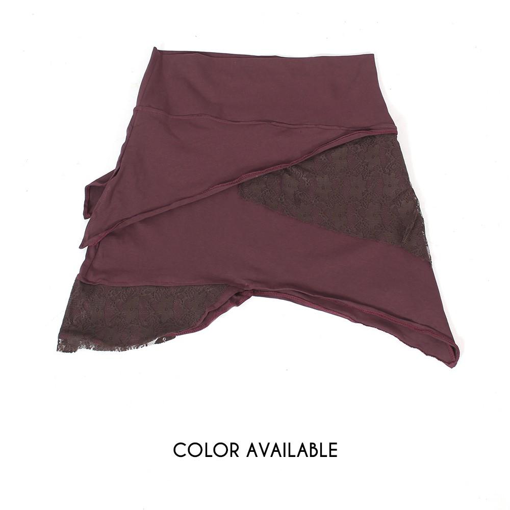 """""""Nangaï"""" skirt, Plain brown"""