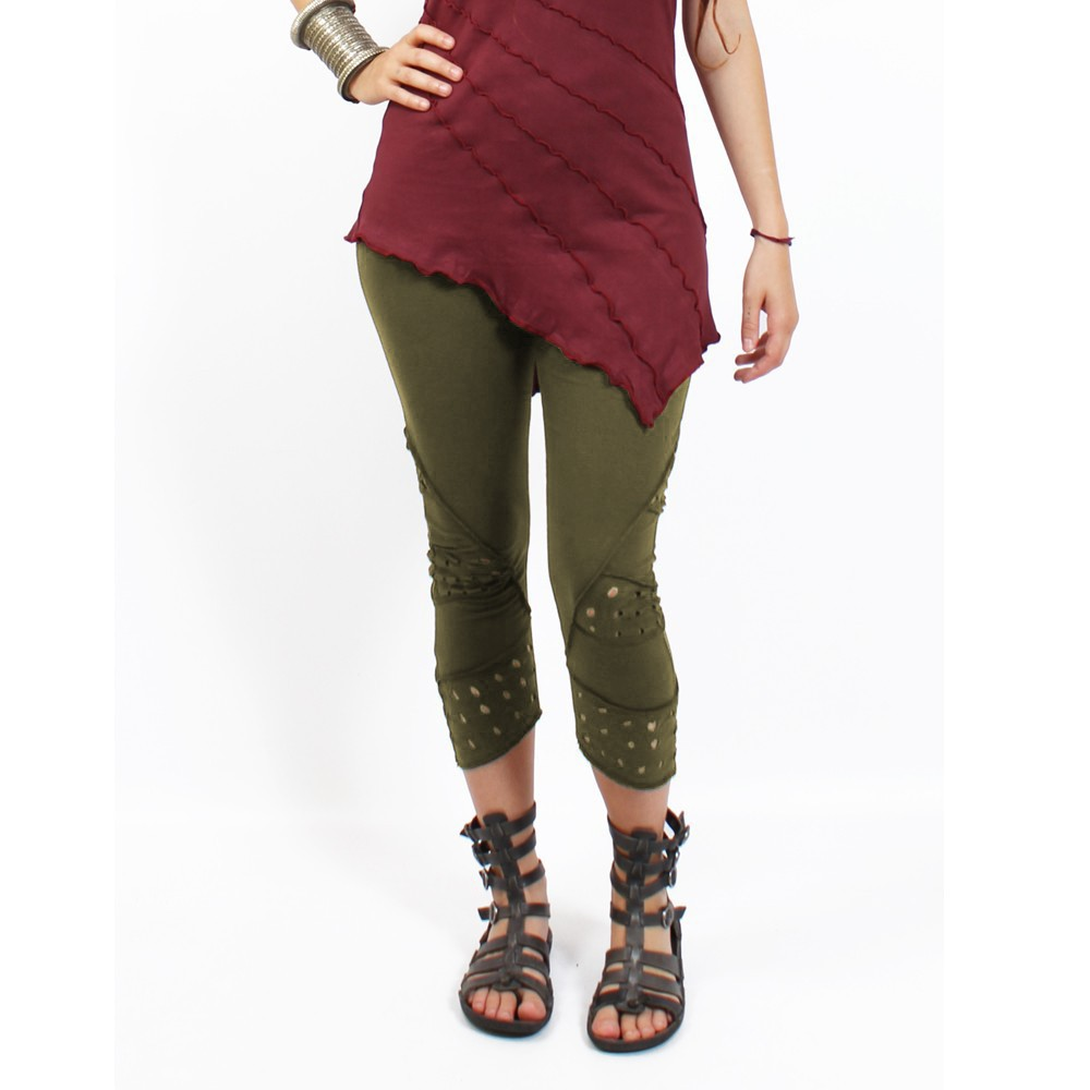 """Nirmala\"" leggings, Khaki"